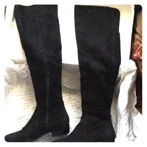 Aldo, black over the knee boots.